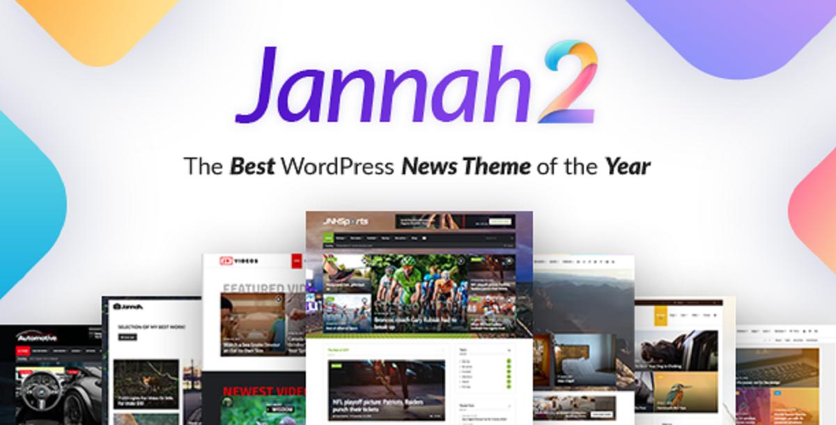 Jannah WordPress News Theme