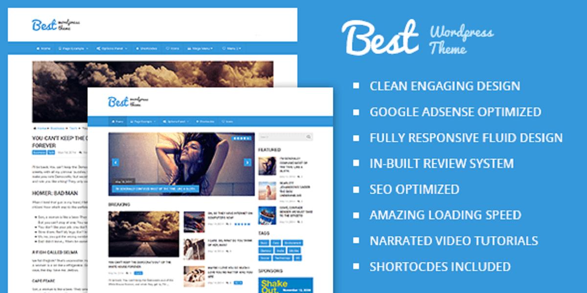 Magazine WordPress News Theme