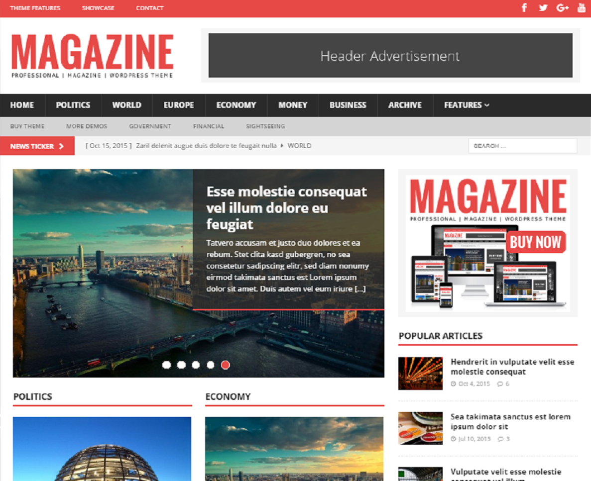 Magazine WordPress News Theme Review
