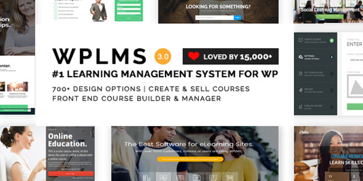 WPLMS Learning Management System for WordPress