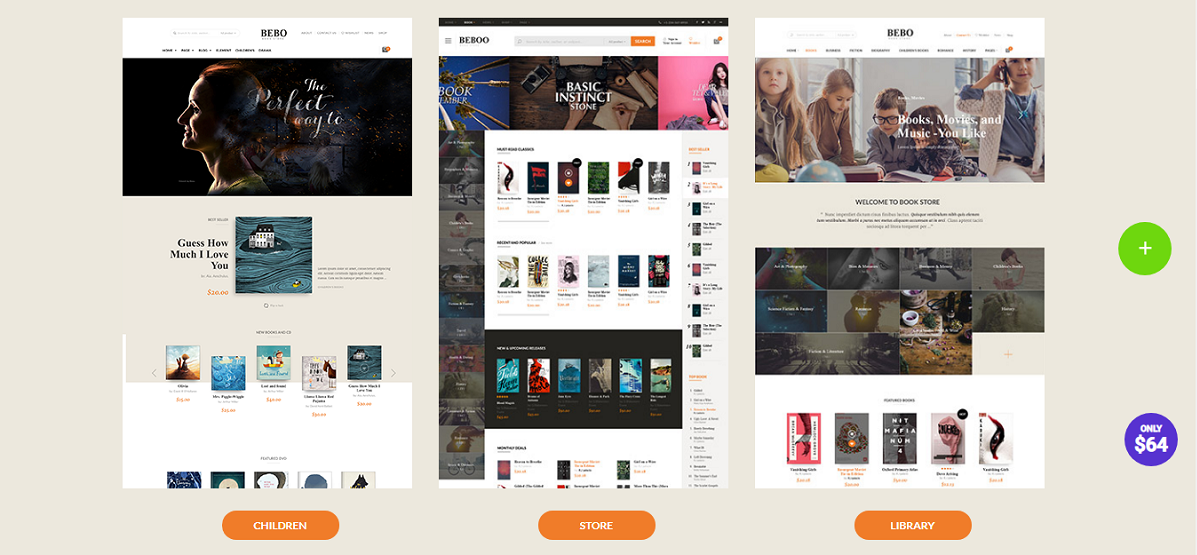 BEBO - Book Issue CD-DVD Store Publish Library WP (WordPress Theme)