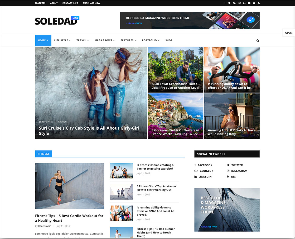 Soledad v5.1 - Multi-Concept Blog/Magazine AMP WordPress Theme
