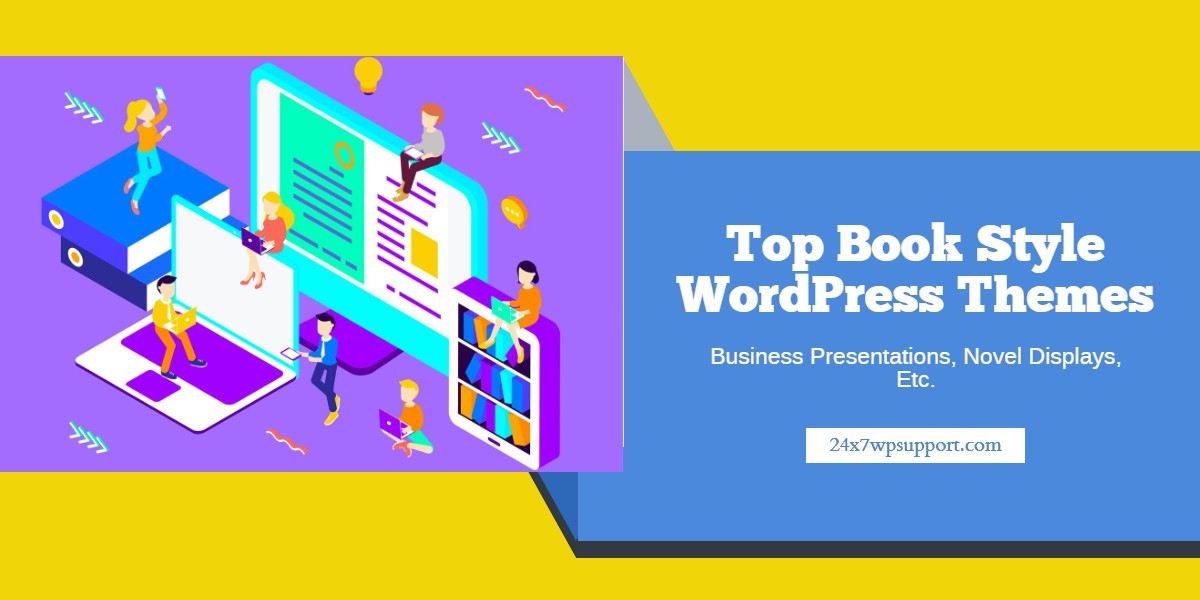 Top Book Style WordPress Themes