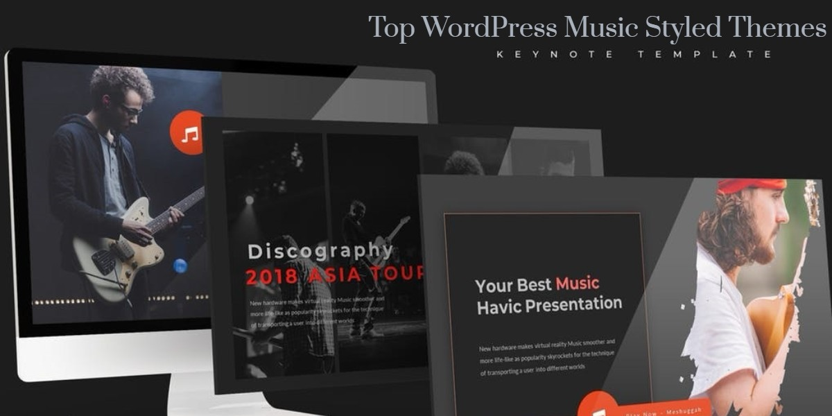 Top WordPress Music Styled Themes