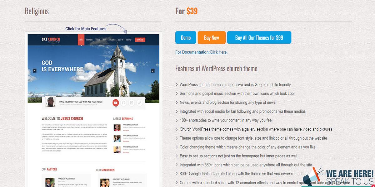 Top 10 Church Style WordPress Theme | Church Blog, Religious