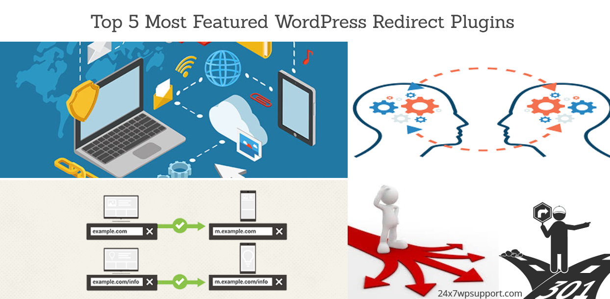 Top 5 Most Featured WordPress Redirect Plugins