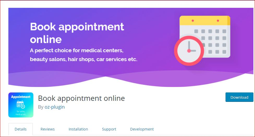 book pro an appointment plugin