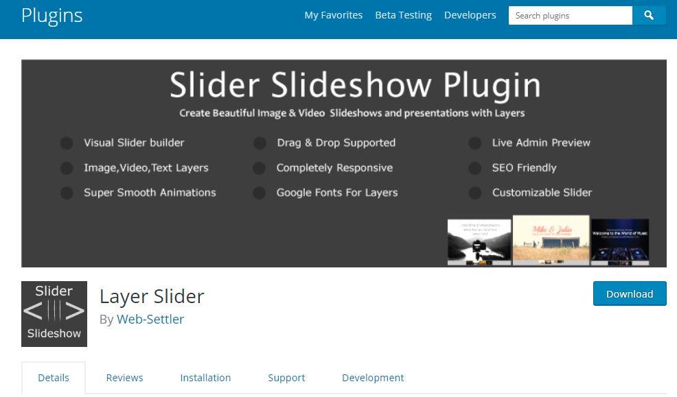 layer slider plugin