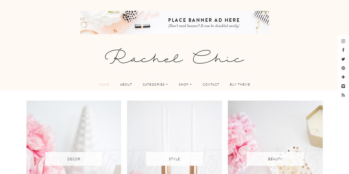 Rachel theme