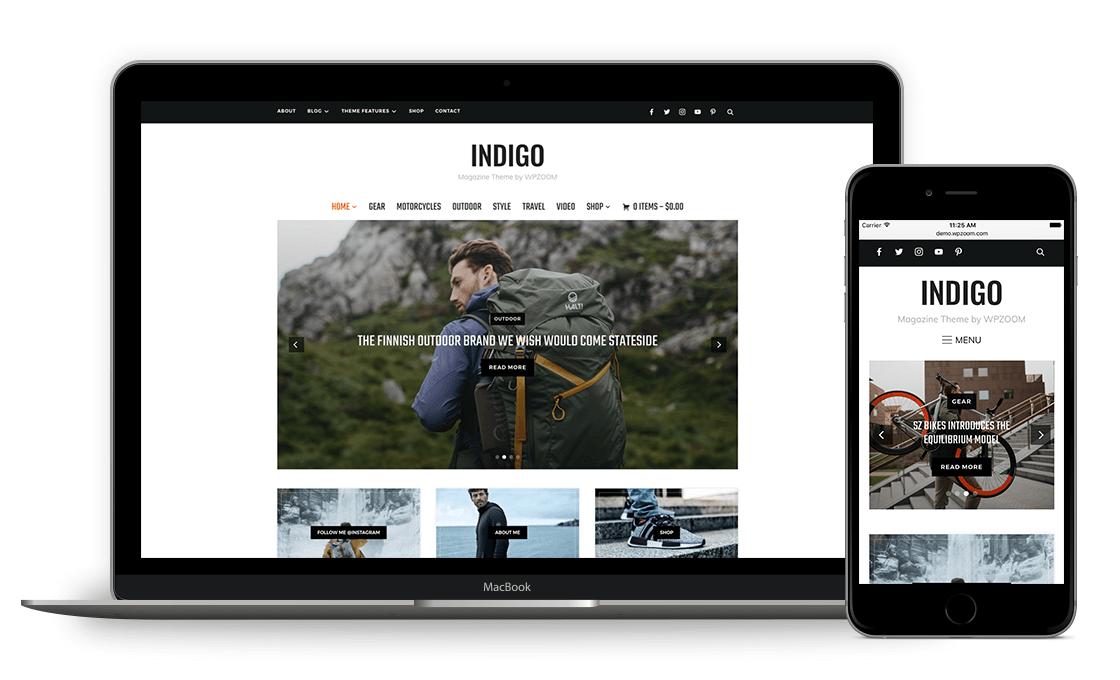 indigo theme