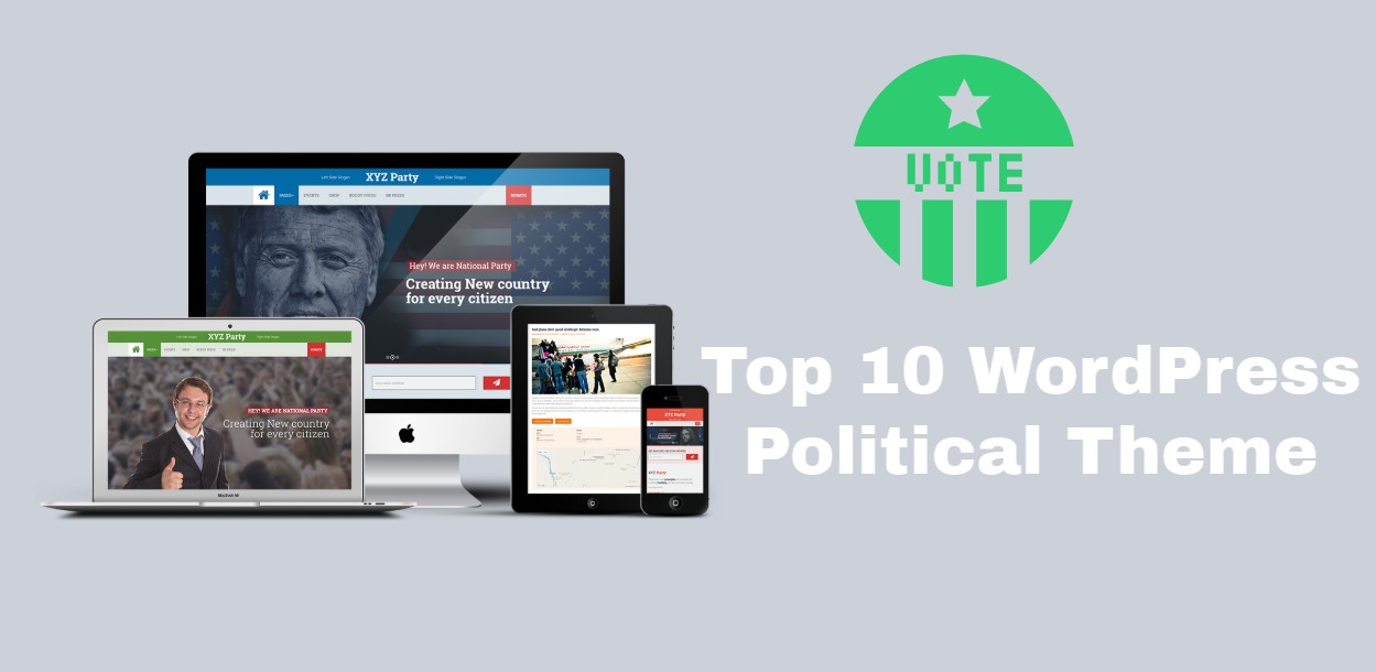 WordPress Political Themes