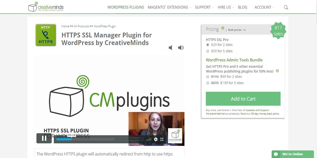 CM https plugin