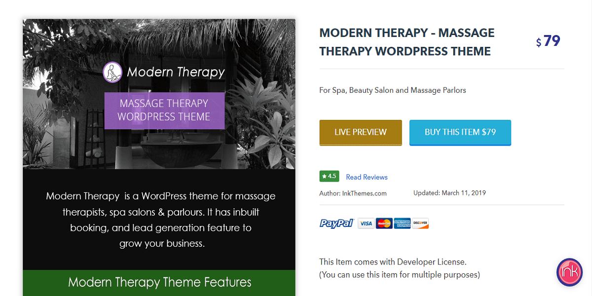 Modern Therapy Theme