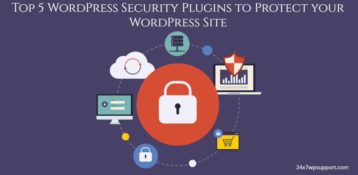 Top 5 WordPress Security Plugins to Protect your WordPress Site