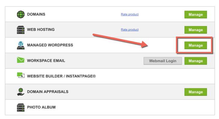 Godaddy Managed WordPress