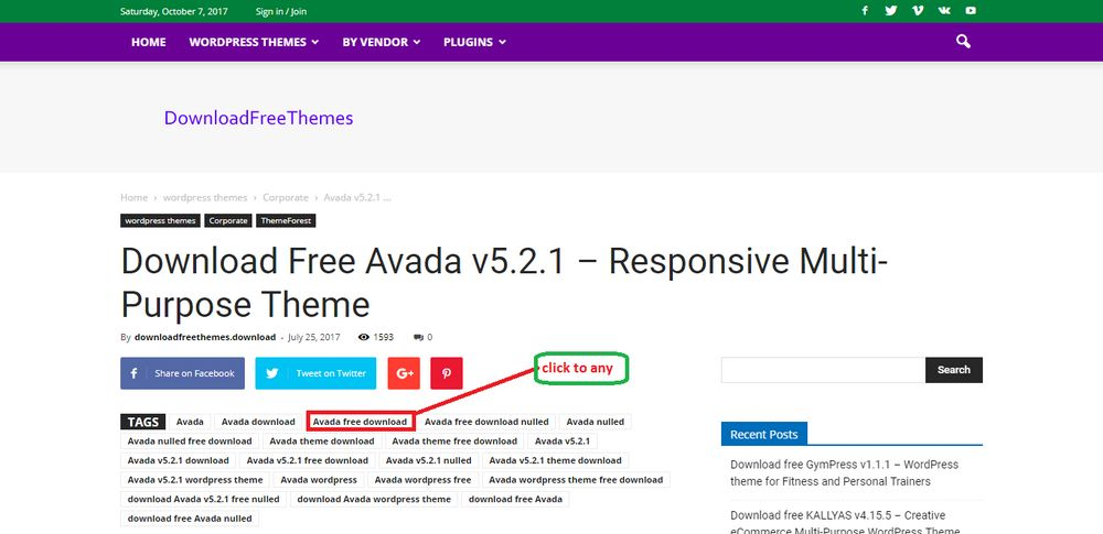 download avada theme