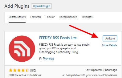 Rss Feeds Plugins