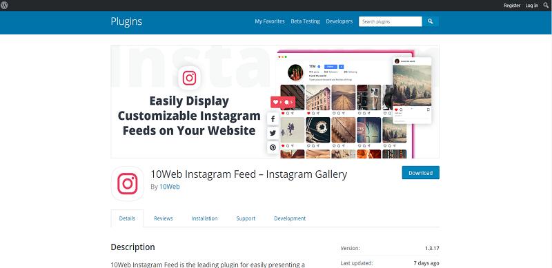 10Web Instagram Feed
