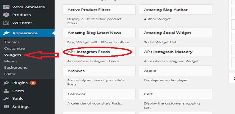 AP: Instagram Feeds