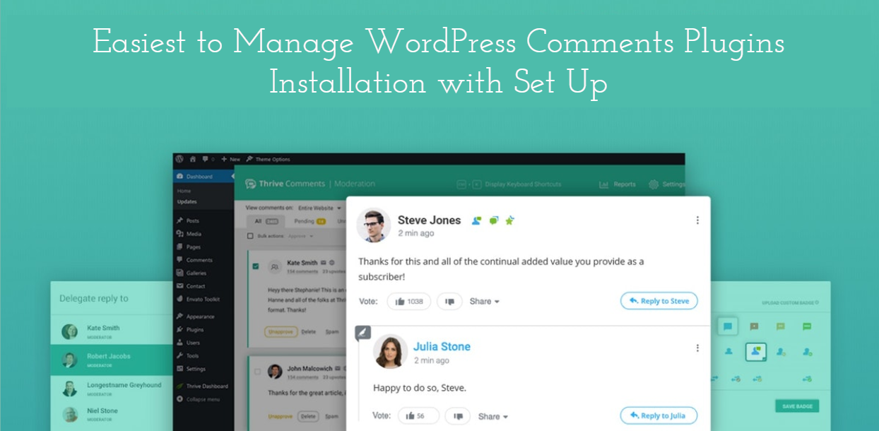 Easiest to Manage WordPress Comments Plugins Installation with Set Up
