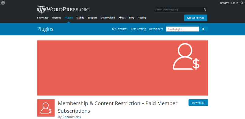 How To Install Membership & Content Restriction – Paid Member Subscriptions