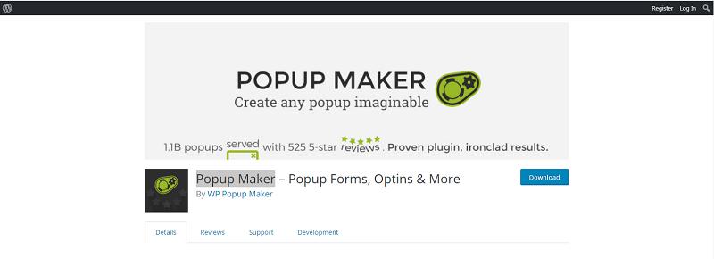 Popup Maker Plugin