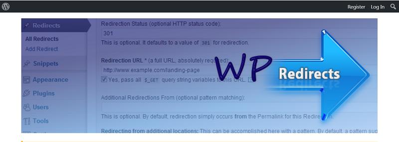 WP Redirects Plugin