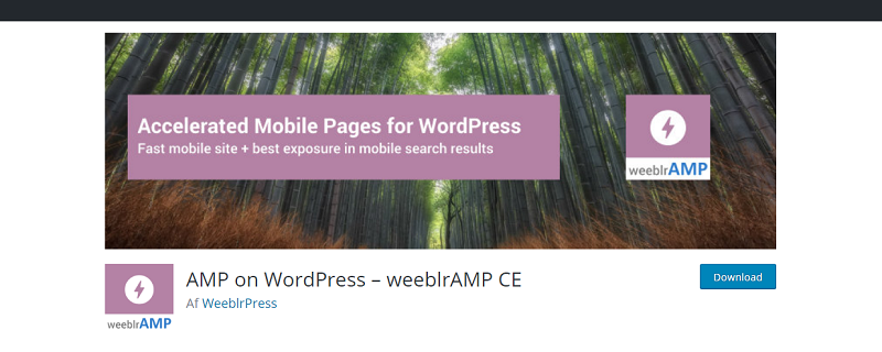 WeeblrAMP CE Plugin