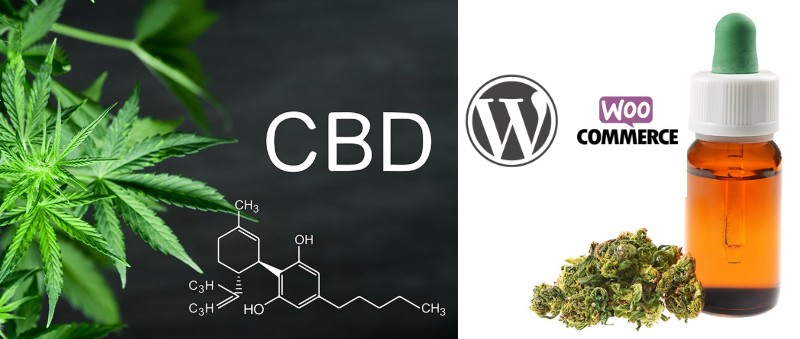 CBD Product with WordPress and WooCommerce