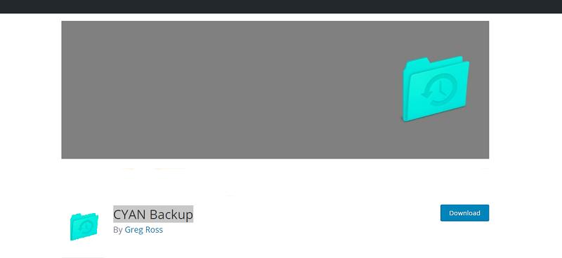 CYAN Backup Plugin
