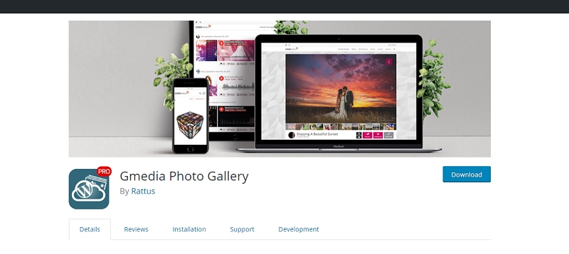 Gmedia Photo Gallery Plugin