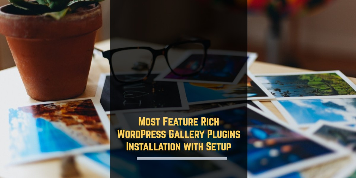 Most Feature Rich WordPress Gallery Plugins Installation with Setup