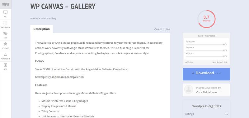 WordPress Gallery Plugins Installation