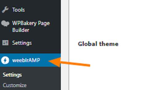 WeeblrAMP Global Theme
