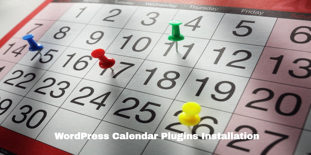 WordPress Calendar Plugins Installation