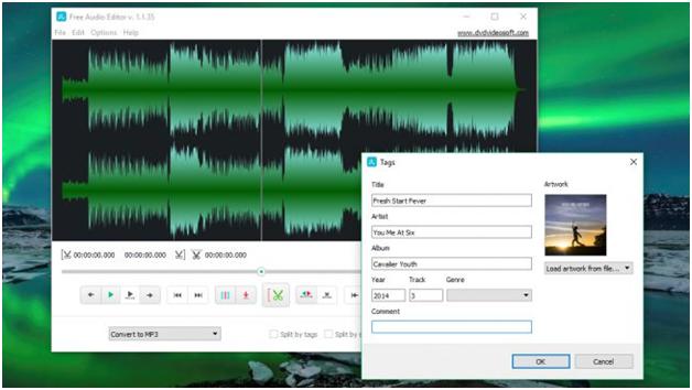 Audacity is considered the go to free audio editing program