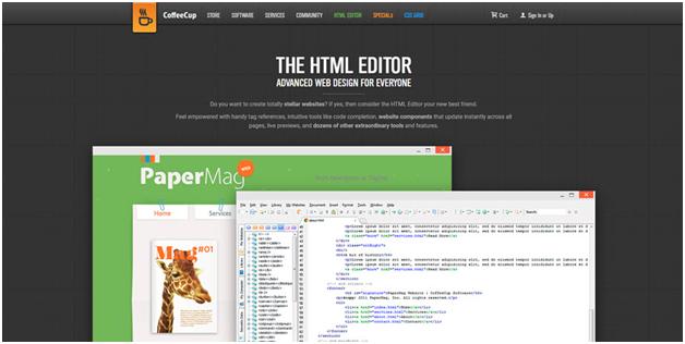 CoffeeCup HTML Editor supports both Mac and Windows