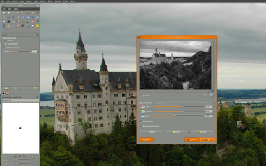 GIMP is an alternative to Photoshop