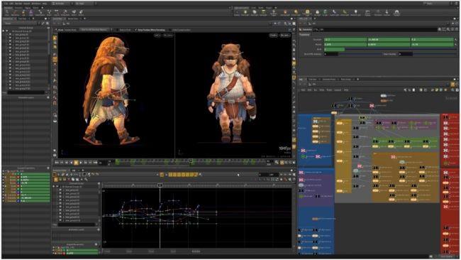 Houdini Apprentice is a full featured graphics designer