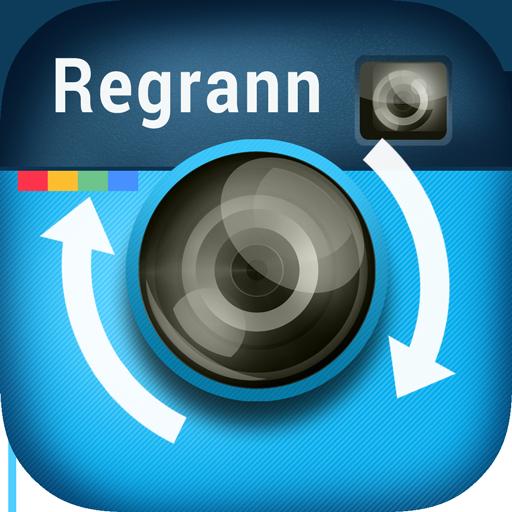 Repost for Instagram - Regrann logo