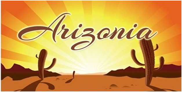 Arizonia is a much thicker font than others