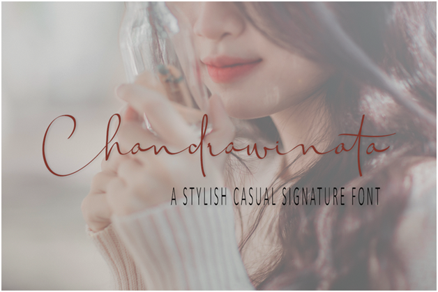 Chandrawinata is another great font for social media