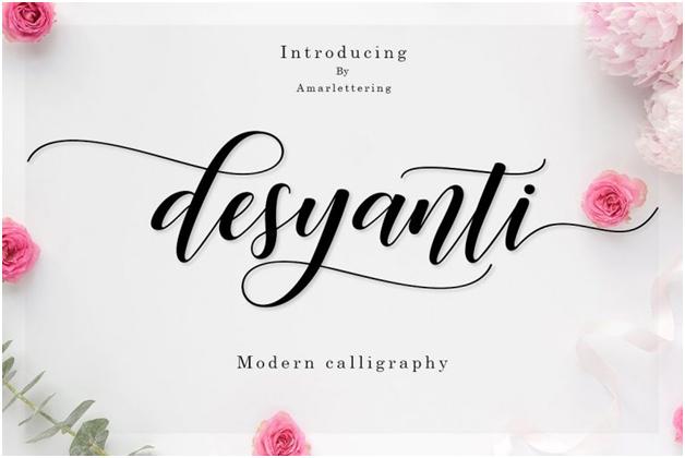 Desyanti font graphic