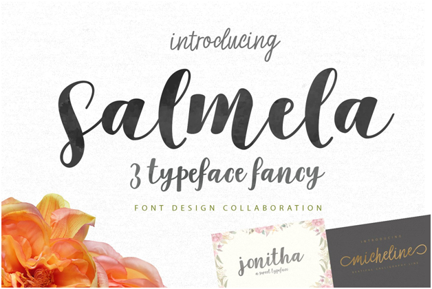 The Salmela font lacks a very specific style