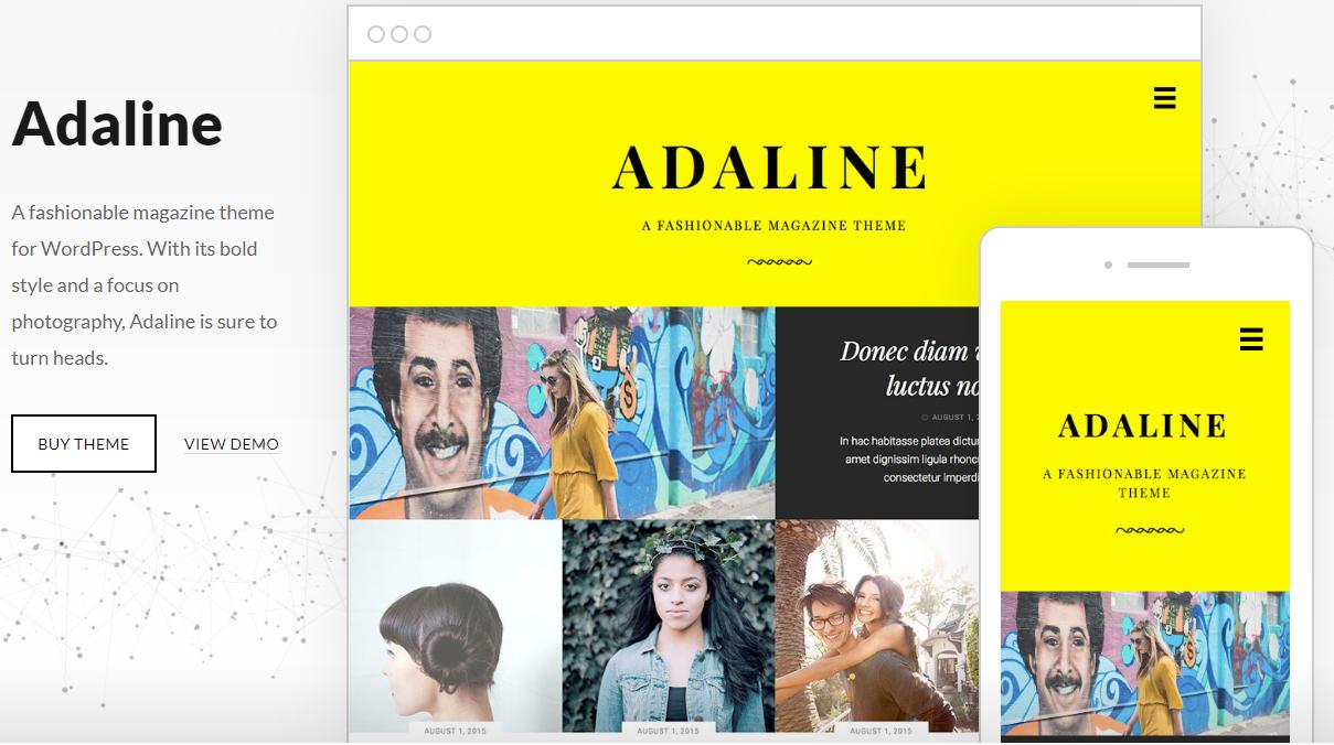 Adaline WordPress Theme