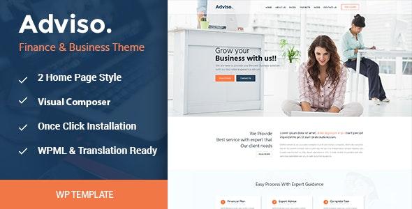 Adviso WordPress Theme