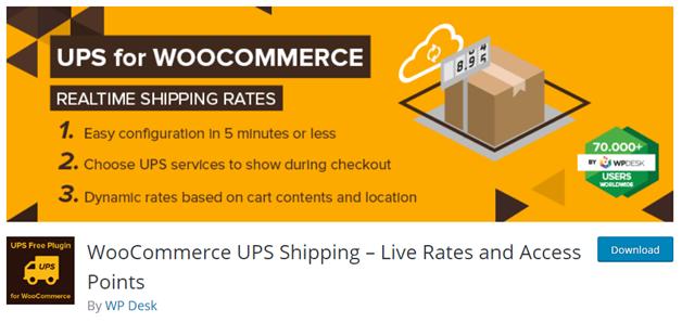 UPS for Woocommerce