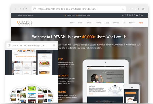 Udesign WordPress theme