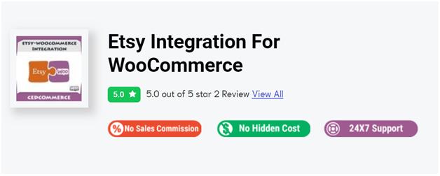 WooCommerce Etsy Integration