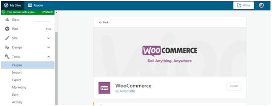 Wordpress woocommerce integration